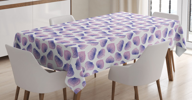 Blended Watercolor Petal Tablecloth