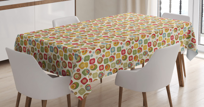 Holiday Celebration Tablecloth