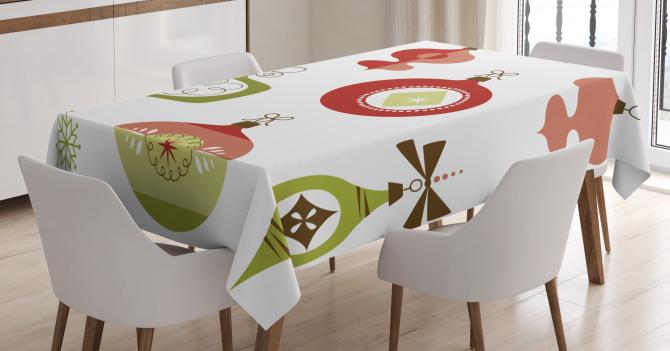 Joyful Wintertime Tablecloth
