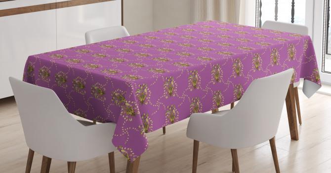 Renaissance Stems Tablecloth