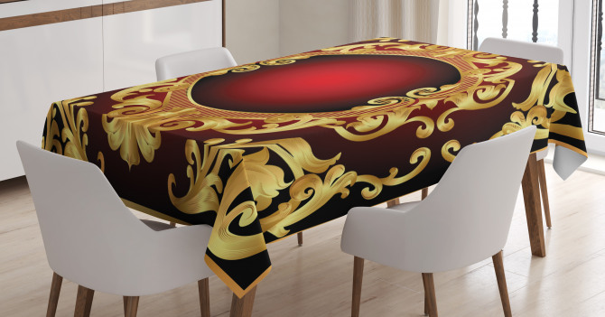 Frame Baroque Tablecloth