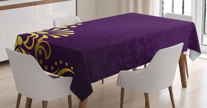 Curvy Ornament Tablecloth