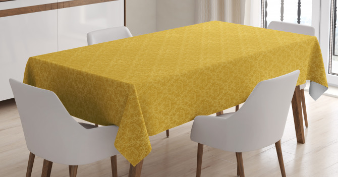 Stylized Plant Tablecloth