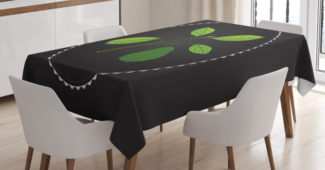 Alligator Pear Tree Tablecloth