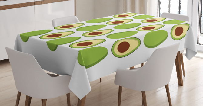 Colorful Organic Food Tablecloth