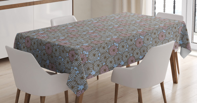 Botanical Garden Design Tablecloth