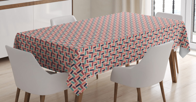 Colorful Mosaics Tablecloth