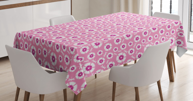 Petals with Bugs Tablecloth
