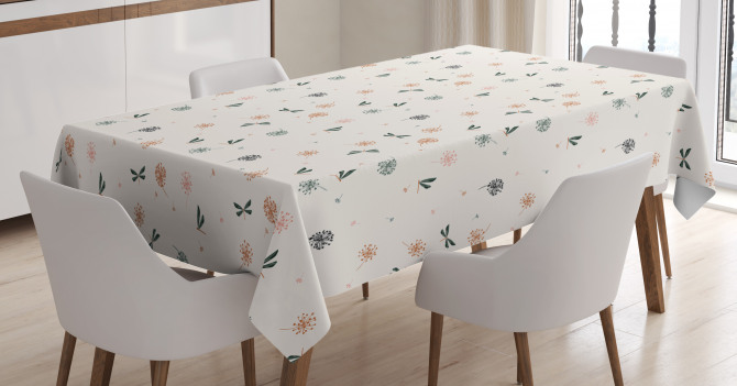 Bugs and Dandelions Tablecloth