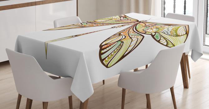 Colorful Bug Design Tablecloth