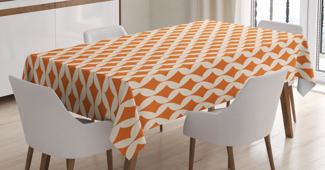 Abstract Ornament Tablecloth