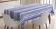 Deniz Temalı Masa Örtüsü Mavi Beyaz Çapa Şık Tasarım
