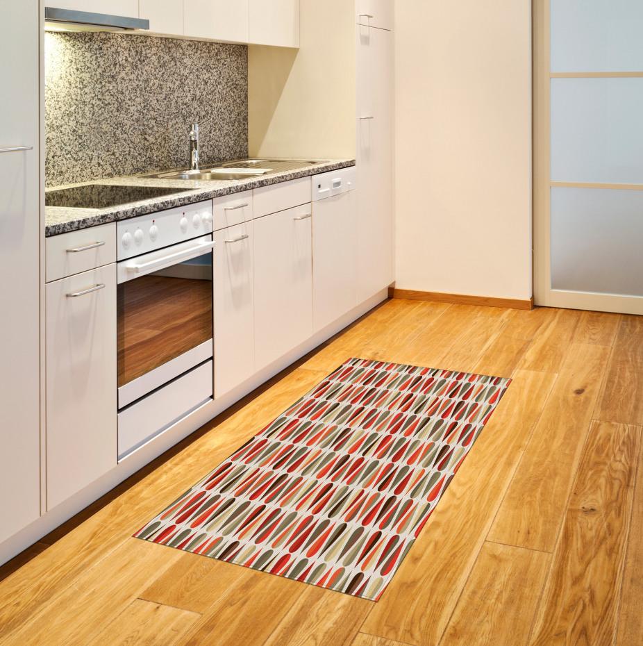 70er Jahre Retro-Stil Teppich