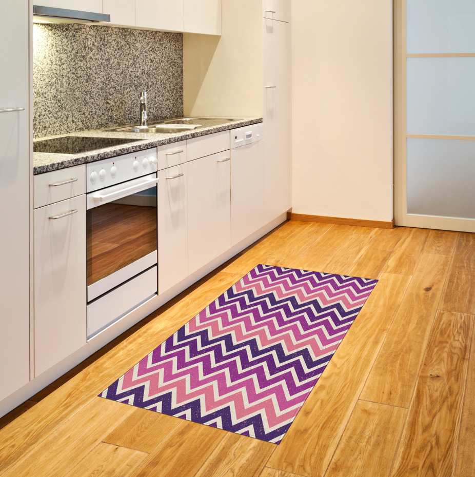 Zig Zag Stripes Area Rug