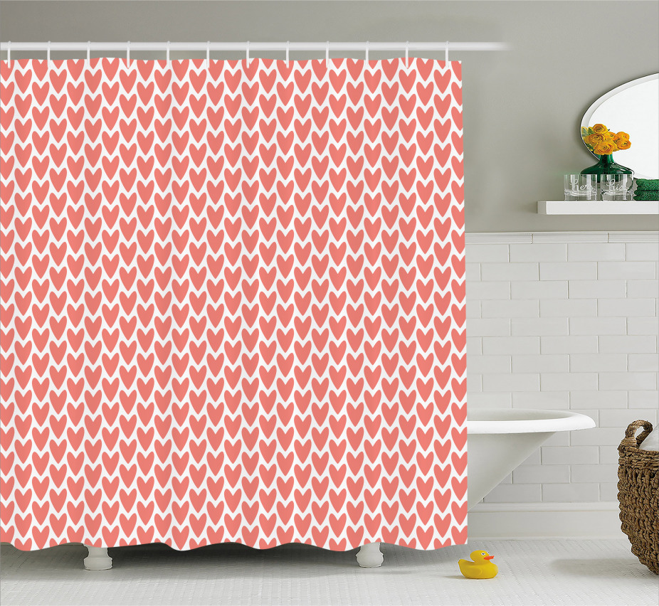 Romance and Love Shower Curtain
