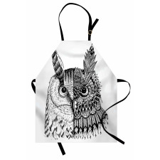 2 Animal Faces Design Apron