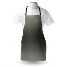 Mutfak Önlüğü Grinin Tonları Desenli