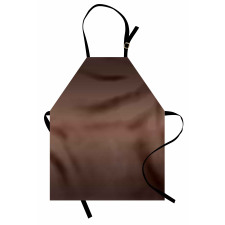 Mutfak Önlüğü Dalgalı Kahverengi