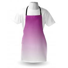 Mutfak Önlüğü Mor Beyaz Desenli