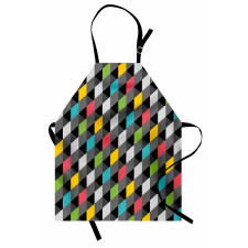 Abstract Art Style Apron