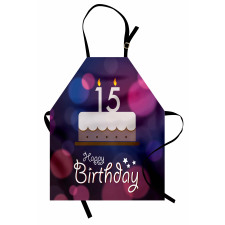 15 Birthday Cake Apron