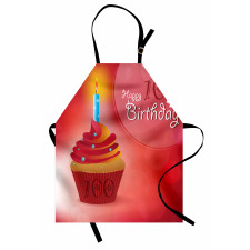 100 Old Cupcake Apron