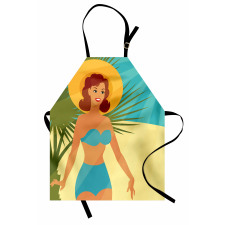 1950s Style Bikini Apron