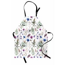 Bahar Mutfak Önlüğü Doğanın Sadeliğini Anlatan Çiçekler Modeli