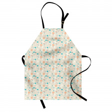 Abstract Art Floral Doodle Apron