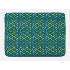 Abstract Art Modern Ornament Bath Mat