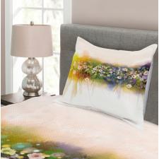 Romance Flowers Bouquet Bedspread Set