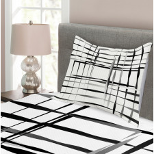 Abstract Art Geometric Bedspread Set
