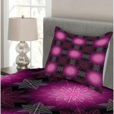 Floral Flower Petals Bedspread Set