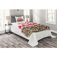 18 Party Bedspread Set