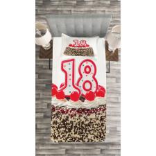 18 Party Bedspread Set