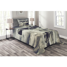 Majestic Cloud Dramatic Sky Bedspread Set