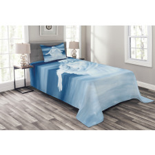 Ethereal Clouds Bedspread Set