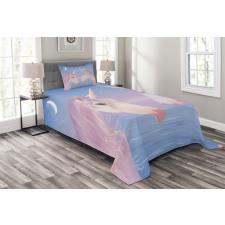 2 Akhal Teke Unicorns Bedspread Set