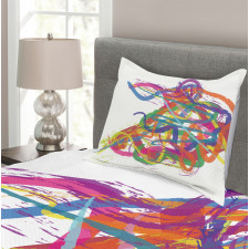 Abstract Art Dancer Bedspread Set