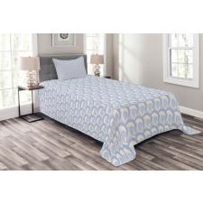 Abstract Art Sea Ocean Waves Bedspread Set