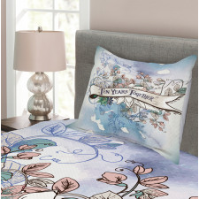 10 Years Floral Art Bedspread Set