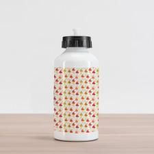 Abstract Autumn Leaf Art Aluminum Water Bottle
