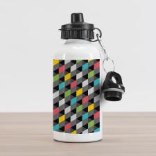 Abstract Art Style Aluminum Water Bottle