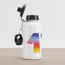 17 Party Aluminum Water Bottle