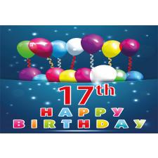 17 Birthday Aluminum Water Bottle