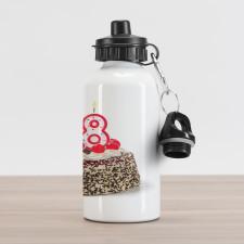 18 Party Aluminum Water Bottle