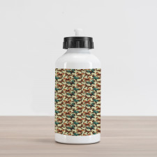 Abstract Art Wings Aluminum Water Bottle