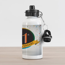 11 Year Retro Style Aluminum Water Bottle