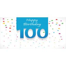 100 Years Birthday Piggy Bank