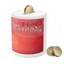100 Old Cupcake Piggy Bank